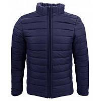 Зимняя одежда Мужская мужская одежда Линия чистого цвета Мода и простое толстое теплое и короткое хлопковое пальто для одежды XL