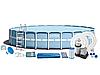 Каркасный бассейн Intex 26762 PRISM FRAME 732х132 см, фильтр-насос  9463Л\Ч
