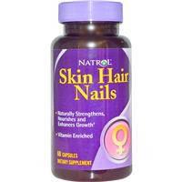 Витамины для волос, кожи и ногтей, Natrol, 60 капсул