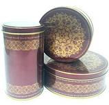 Коробка с крышкой из жести, 10х19 см, Шоколад золото, Праздничная упаковка из жести, Днепр, фото 3