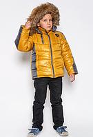 "Зимняя куртка на мальчика ""Босс"""