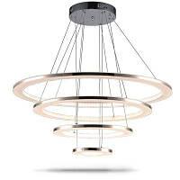 Роскошный акриловый подвесной светильник Крытый декоративный современный висячий светильник 76W