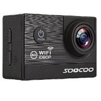 SOOCOO Марка спортивная камера C20 HD 1080P водонепроницаемость дайвинг наружная беспроводная камера мобильное обнаружение Чёрный