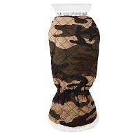 Водонепроницаемая теплая перчатка с лопатой для снега / льда ACU Камуфляжный