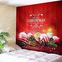Стене Висит Рождественские Шары Гобеленовые Картины ширина59дюймов*длина51дюйм