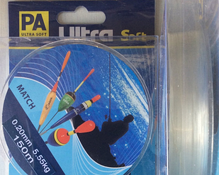 Леска PA Ultra Soft Match 150м матчевая