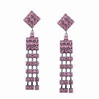 Кольцевые кольца с бриллиантами Розовый