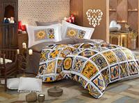 Комплект постельного белья  Hobby поплин размер полуторный Mozaique жолтый