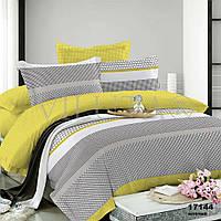 Комплект постельного белья (Двуспальный) ранфорс Viluta 17144 желтое