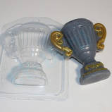 Пластиковая форма для мыла Кубок, фото 2
