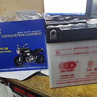 Аккумулятор мото 12V 9A 12N9-3B Outdo 133×137×73