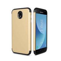 Углеродистое Frosted в одном корпусе для защиты мобильного телефона для Samsung J730 Золотой