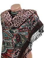 Зимний шарф палантин из кашемира