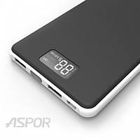 Портативное зарядное устройство Powerbank Aspor A398 MacBook, 20 000mAh