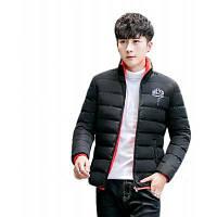 Мода Толстые теплое пальто хлопка-проложенной одежды человек зимний хлопок пальто XL