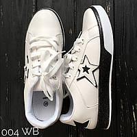12fe764ad Мокасины женские со стильной звездочкой экокожа отличного качества на  шнуровке