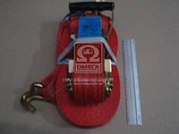 Стяжка груза, 5t. 50mm.x10m.(0.4+9.6) пластиковая ручка  WTR5000-006 10m