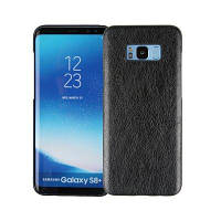 Следующее из Litchi Grain Leather Grain+Корпус для Samsung Galaxy S8 Plus Чёрный