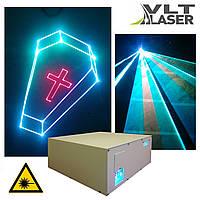 Лазерный проектор для шоу (V поколение). Цветной, 2300мвт. Софт и контроллер. Наличие LAN, DMX, ILDA, SD