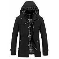 Твердое пальто для отдыха большого размера XL