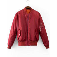 Застегивать Графических Обратно Фугу Куртка S