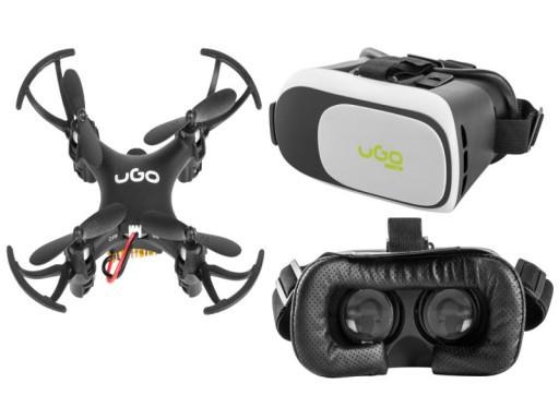 Квадрокоптер дрон UGO Zephir UDR-1000 + очки VR UGO