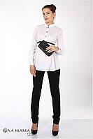 """Узкие брюки для беременных """"Lea"""", черные, фото 1"""