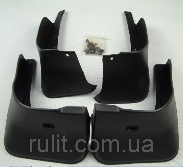 Бризковики для Toyota Corolla 2007 -2013 комплект 4 шт Тойота
