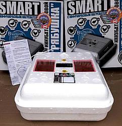 Инкубатор для яиц Рябушка Smart Turbo-70 цифровой с механическим переворотом и инфракрасным нагревателем