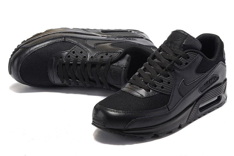 aa640df7 Nike Air Max 90 Premium Triple Black. Кроссовки Nike Air Max 90. Кроссовки  найк
