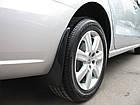 Брызговики на для FIAT Grande Punto hb (05-) передние 2 шт Фиат, фото 4