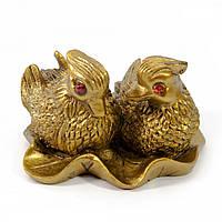 Статуэтка Утки мандаринки из каменной крошки