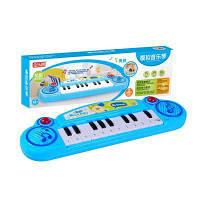 Детский музыкальный электронный инструмент для симуляции игрушек для фортепиано Синий
