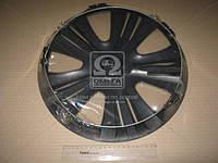 Колпак колесный R13 LUX черный 1шт.  (арт. DK-R13LB)