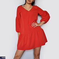 Платье (42, 44, 46, 48, 50, 52) — Вискоза-коттон