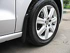 Бризковики для Volkswagen Polo V sd (10-) передні 2 шт Фольксваген VW, фото 3