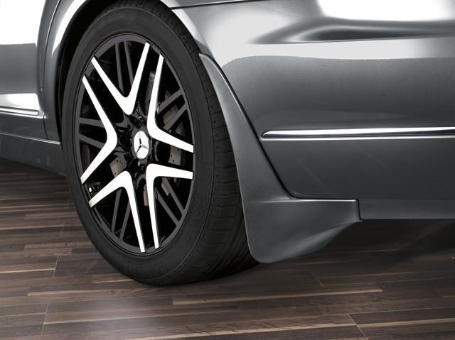 Брызговики на для Mercedes W221 S-Class 2005-2013 (задние кт 2-шт) кт. MERCEDES Мерседес
