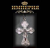 Крест православный мужской серебряный до 6 г