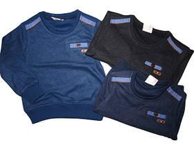 Пайты, кофты, свитера, регланы с начёсом для мальчиков ОПТ