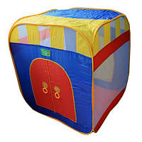 Палатка детская игровая цилиндр М 0505