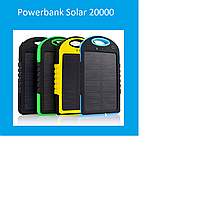 Powerbank Solar 20000 Black, blue