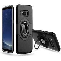С амортизатором Dual Cover Design Держатель для телефона с защитой от царапин для SamSung Galaxy S8 Plus Case Чёрный
