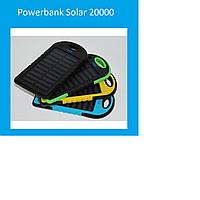 Powerbank Solar 20000  Black, blue!Акция
