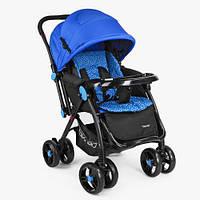 Детская прогулочная коляска Bambi Синяя (M 3655-4), фото 1