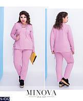Женский спортивный костюм  (48,50,52,54,56,58) —двухнитка купить оптом и в Розницу в одессе 7км