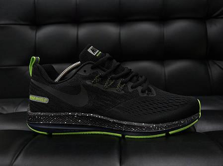 Мужские кроссовки Nike Child с зеленой подошвой топ реплика, фото 2