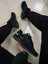Мужские кроссовки Nike Child с зеленой подошвой топ реплика, фото 3