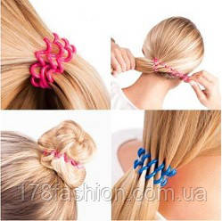 Резинка пружинка для волос
