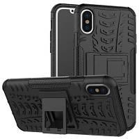 Обложка для мобильных телефонов IPhone X Colorful Protective Shell Чёрный
