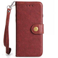 Для Samsung Note8 Tangerine Buckle Многофункциональный держатель карты Деление в одном корпусе для защиты мобильного телефона Красное вино